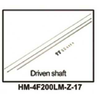 HM-4F200LM-Z-17 - Driven Shaft