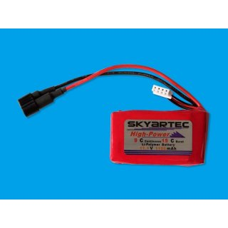 Battery Lipo 11.1V/1100mAh - CE-014